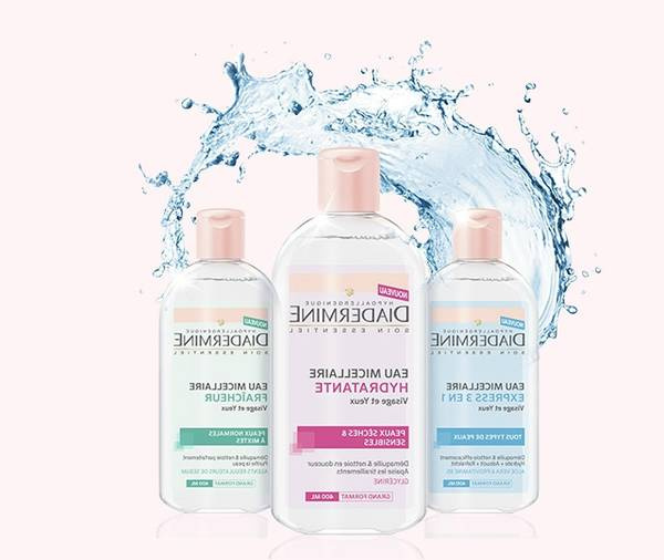 eau micellaire peau sensible